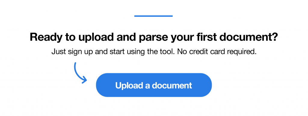 PDF to Database with Docparser
