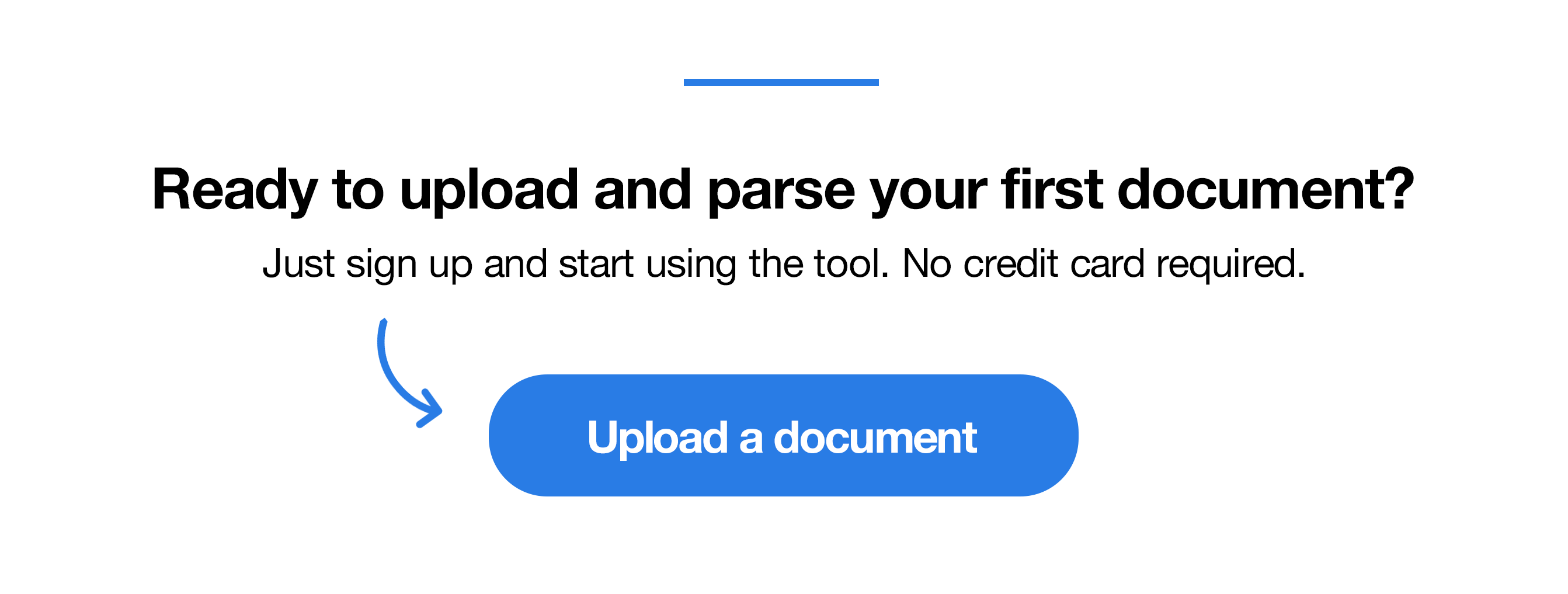 Parse your first document